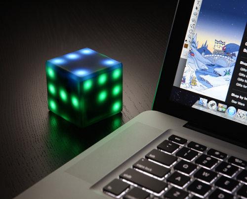 Princip Interactive LED Futuro Cube from ThinkGeek