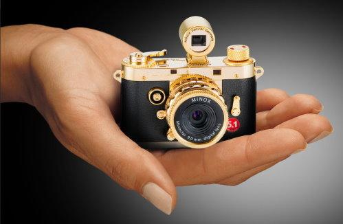 Minox Digital Classic Camera DCC 51 Gold Edition