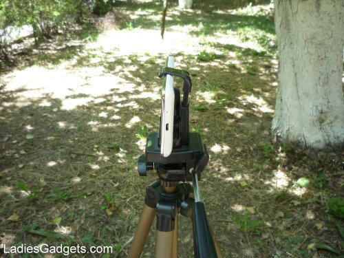 Hands on Review Tmart Tripod Adapter for Smartphones (10)