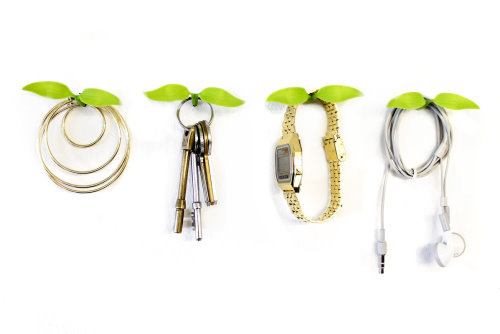 Leaf Hooks Hold Your Small Accessories (1)