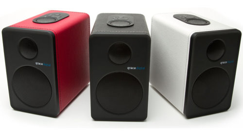 Grace Digital Bluetooth 4 Bookshelf Speakers (1)