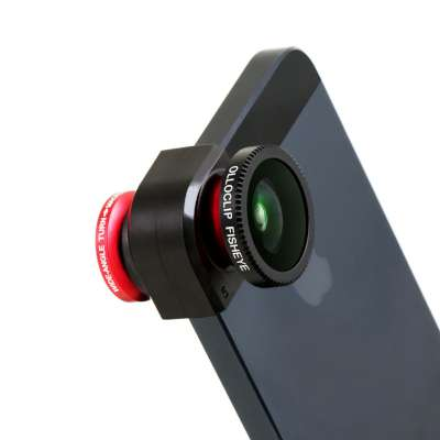 Ollioclip Fish Eye Wide Angle and Macro Lens System for iPhones (1)
