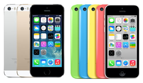iPhone 5S or iPhone 5C