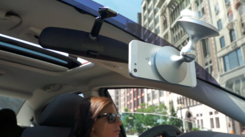 Mount Your Smartphone on the Windshield or Tripod with eleMount