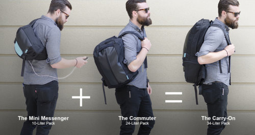 Transformable Backpack Charges Your Devices on the go (6)