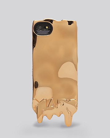Marc Jacobs Melted Rose Gold Case for iPhone (2)