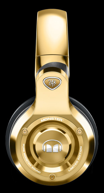 Monster 24K Headphones (1)