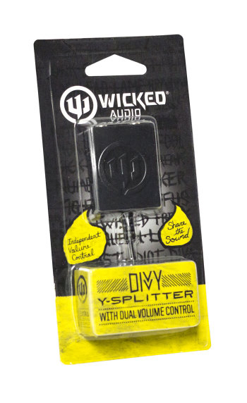 Wicked Audio Splitter for a Two Person Listening Experience (1)