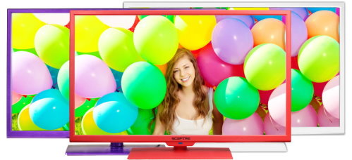 Sceptre Color Series 32 inch LED HDTVs (3)