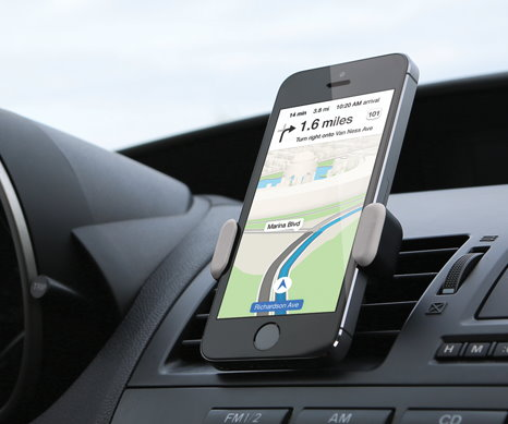 Airframe Car Mount Smartphones (3)