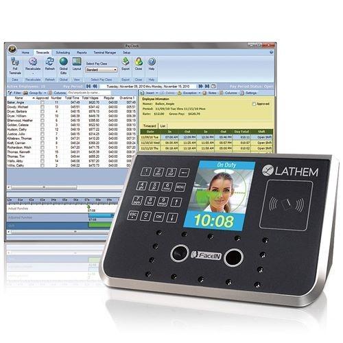 lathem time clock face recognition (1)